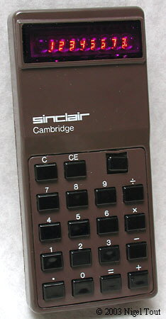 Sinclair Cambridge type 2