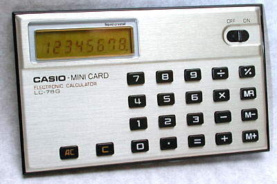 Casio Mini Card LC-78G
