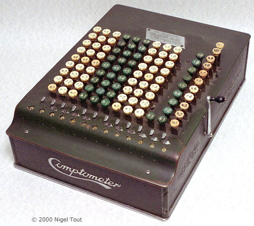 Full-Keyboard Sterling Comptometer