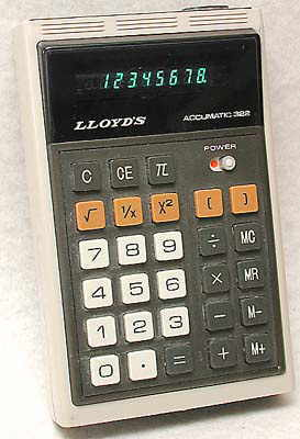 Lloyd's Accumatic 322