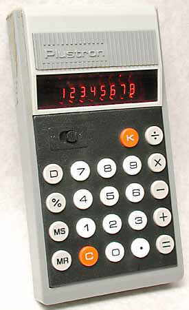Plustron 808 calculator