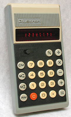 Plustron 908 calculator