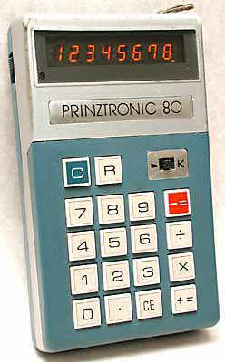 Prinztronic 80 calculator