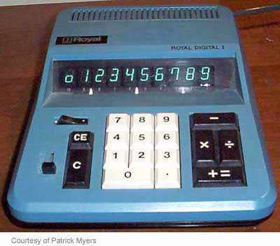 Royal Digital I calculator
