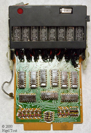 Sharp EL-8 board