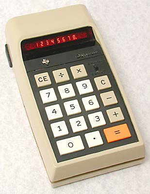"TI 2500 ""Datamath"", 2nd. version."