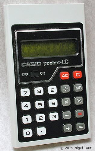 Casio pocket-LC