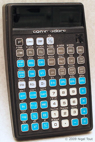 Commodore N-60 navigation calculator