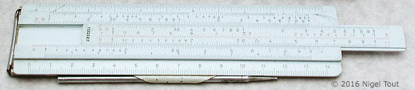 Faber Castell 67-87R slide rule