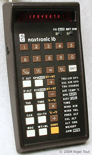 Navtronic 16 aircraft navigation calculator
