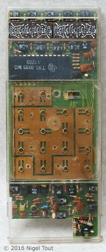 Sinclair Executive Circuit Board with key contacts
