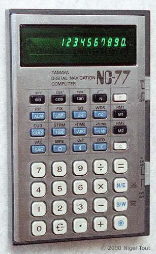Tamaya NC-77 Digital Navigation Computer